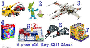 birthday gift ideas for a 6 year boy chockababy