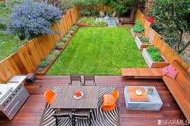 liked the built in planters and vegetable boxes the deck the