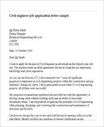 Samples Of Resume For Job Application by Job Application Letter For Engineer 8 Free Word Pdf Format