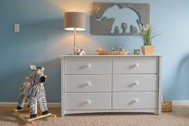 classic gray and blue safari nursery project nursery