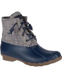 womens boots navy slash prices on s sperry top sider saltwater duck boot