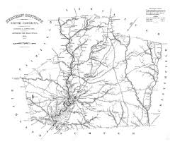 county map of sc 1825 map of kershaw district south carolina