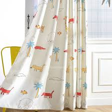 Jungle Curtains For Nursery Safari Curtains For Nursery Thenurseries