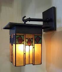 Craftsman Sconces Craftsman Style Wall Sconce Goodlifeclub Info