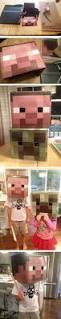 Mine Craft Halloween Costumes by How To Make Diy Minecraft Steve U0026 Creeper Halloween Costumes