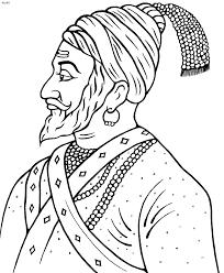 shivaji maharaj sketch by jatin youtube clip art library