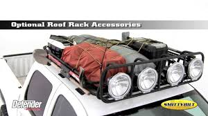2005 Toyota Tacoma Roof Rack by Smittybilt Defender Rack Youtube