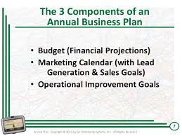 annual business planning workshop