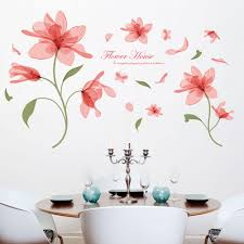 wall sticker sale shop online for wall sticker at ezbuy my red flowers english letters wall decal home sticker pvc murals vinyl paper house decoration wallpaper living room bedroom kitchen art picture diy for