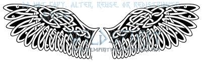 celtic barn owl wings tattoo by wildspiritwolf on deviantart