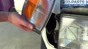 2003 toyota 4runner tail light replace 1996 2002 toyota 4runner side marker light bulb how to