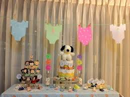 snoopy baby shower decorations the unique theme decolover net