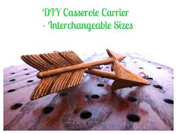 diy christmas gift casserole carrier interchangeable sizes 2