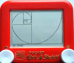 fibonacci spiral etch a sketch by pikajane on deviantart