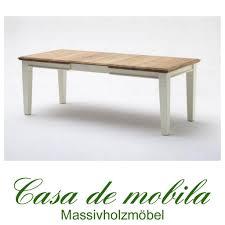 Esszimmer Tisch Vintage Massivholz Esstisch Ausziehbar 180 240x95 Holz Kiefer Massiv
