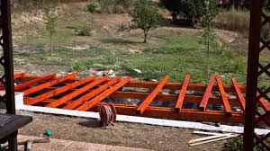 Come Costruire Un Pollaio In Legno by 2013 Pedana In Legno Youtube