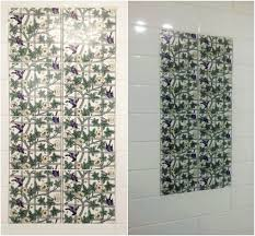 william morris bird and trellis tiles