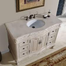 48 ella bathroom vanity single sink cabinet white oak finish