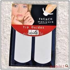 diy nail art 3d nail sticker french manicure tip guides for nail