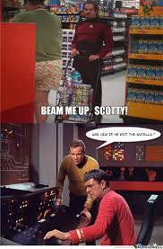 Scotty Meme - beam me up scotty by klekihpetra meme center