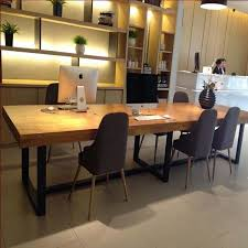 Ikea Boardroom Table Solid Wood Conference Table Desk Modern Minimalist Restaurant