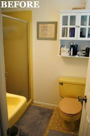 yellow bathroom ideas a 1965 bathroom gets a much needed overhaul powder room room
