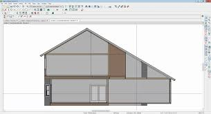 saltbox roof truss design house roof