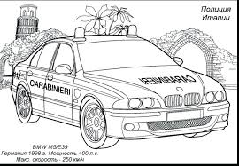 coloring police car pages print games colouring free