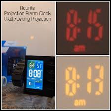 Clock That Shines Time On Ceiling by Projection Alarm Clock Don U0027t Oversleep When You Tent Camp