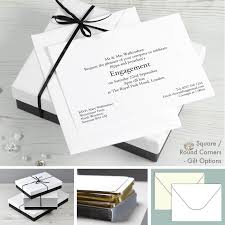 Engagement Invitation Cards Images Personalised Engagement Party Invitations Honeytree Wedding Boutique