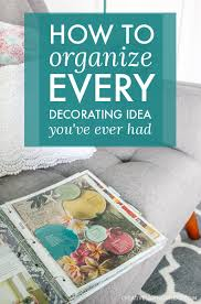 plete Binder Organization for all Your House Decorating Ideas