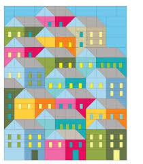 hillside houses quilt pattern craftsy