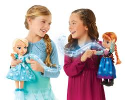 disney frozen singing sisters elsa anna dolls exclusive
