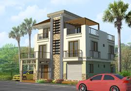 3 story house plan design