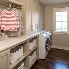 Laundry Sorter Cabinet Laundry Room Drying Rack Over Laundry Sorter Transitional