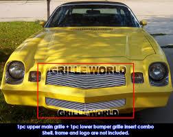 81 z28 camaro parts for 78 81 chevy camaro z28 billet grille grill combo insert ebay