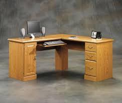 Corner Desk Plan Sauder Orchard Computer Desk With Hutch Carolina Oak Orchard