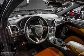 jeep grand cherokee interior 2013 2013 naias jeep grand cherokee srt8 live photos autoevolution