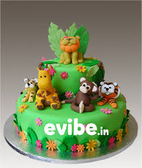 jungle theme cake birthday planners hyderabad unique boy theme cakes for birthday