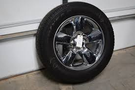 dodge ram take wheels dodge ram 1500 20 inch chrome clad spare replacement and tire