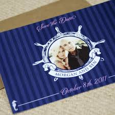nautical save the date nautical flat card save the date