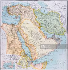 Map Middle East by Map Of Turkey Middle East Horn Of Africa And Persian Gulf In 1890s