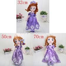 32cm 50cm 70cm plush dolls sofia princess princess doll
