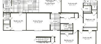 5 bedroom floor plan amazing wonderful 5 bedroom modular homes four bedroom mobile