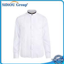 stand up collar mens korea cheap white dress shirt designs buy