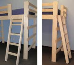 Bunk Bed Ladder Bunk Beds For Youth College Adults Made In Usa