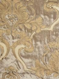 hebe regal floral damask goblet velvet curtains