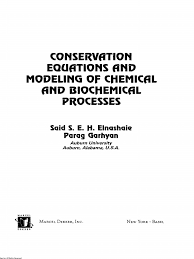 conservation equations and modeling of chemical and biochemical