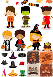 free halloween costumes kids vector graphics blog