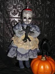 Scary Baby Doll Halloween Costume 450 Halloween Doll Decor Images Halloween